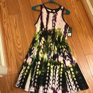 NWT COLORFUL DRESS